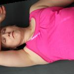 A savasana to eliminate shoulder knots