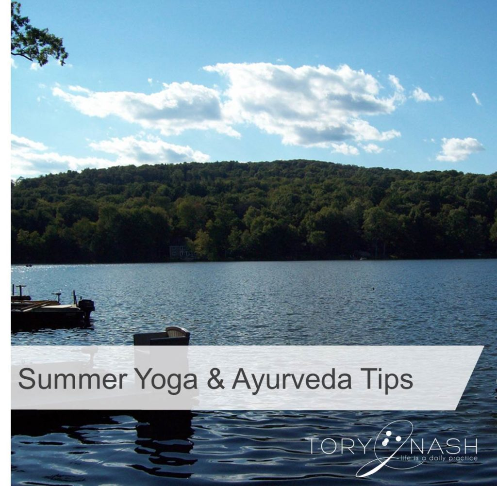 image of Summer Yoga and Ayurveda Tips